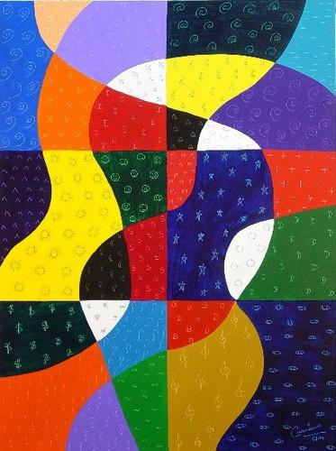Symbolic-patchwork-quilt