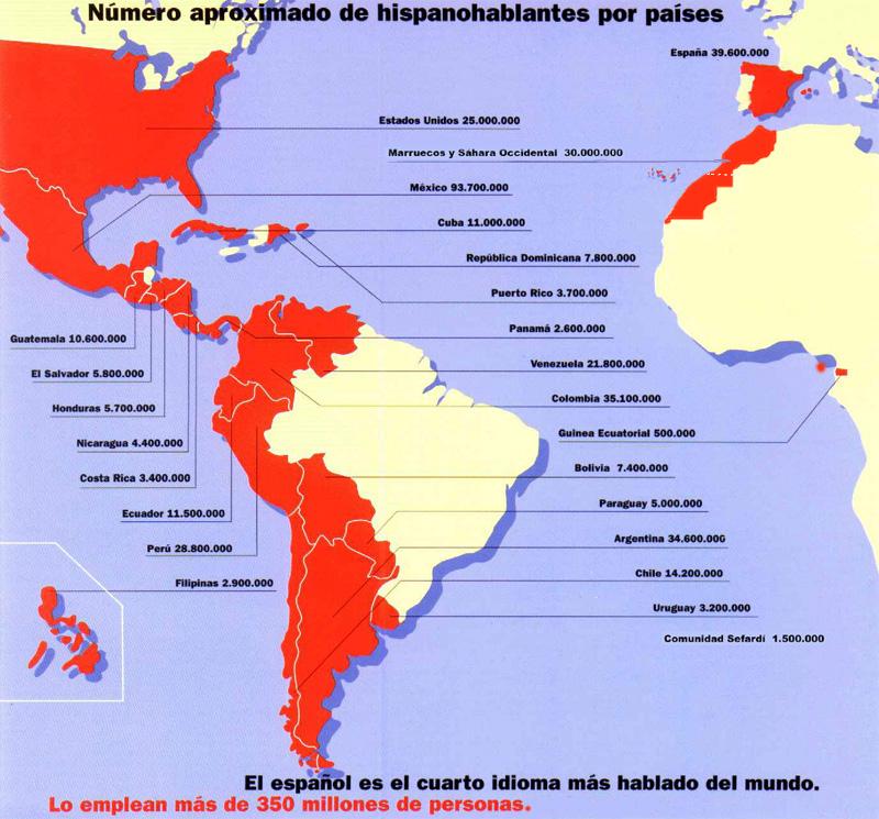 espanol lengua oficial de: