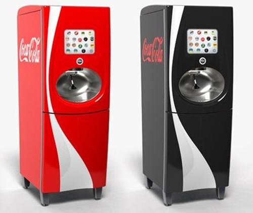 Última generación de máquinas de refrescos