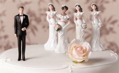 hombre mujeres poligamia