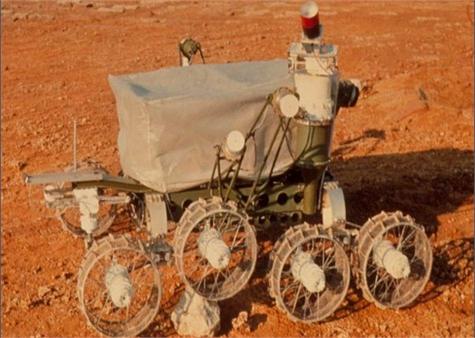 Robot Rusia Luna