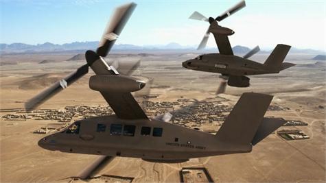 Estados Unidos presenta el helicóptero más moderno del mundo