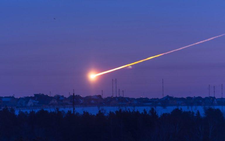 Temor por el meteorito caído en Rusia