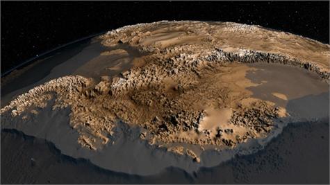 Antartida sin hielo