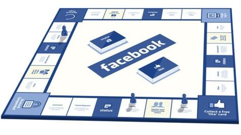 Facebook presenta su juego de mesa