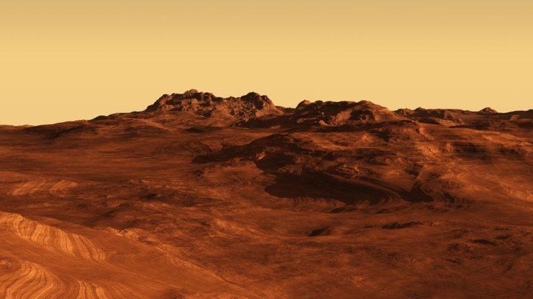 Científicos hallan componentes de la vida en Marte