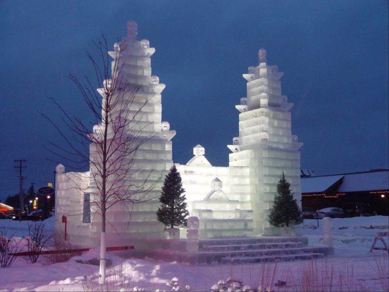 10 edificios de hielo que te dejarán helado